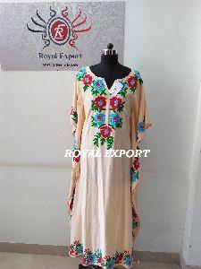 Trending Handmade Embroidery Maxi Dress