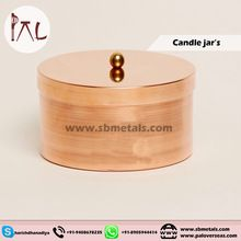 Handmade Copper Candle Tins