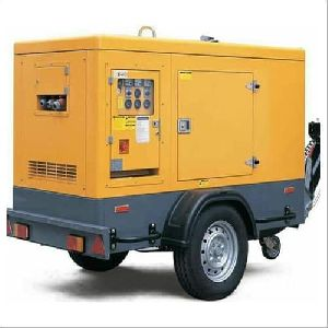 Silent Welding Generator Trailer Mounted