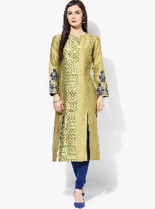Ladies Cut Work Kurtis