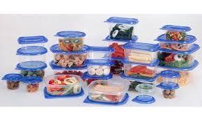Plastic Food Container Set