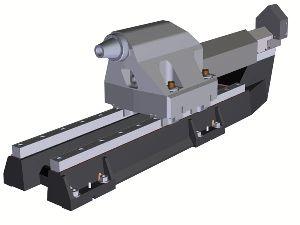 Hydraulic Tailstock Drilling Lathe Machine
