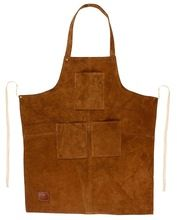 Rustic Town Genuine Leather Grill Work Apron