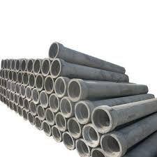 Construction Rcc Concrete Pipes