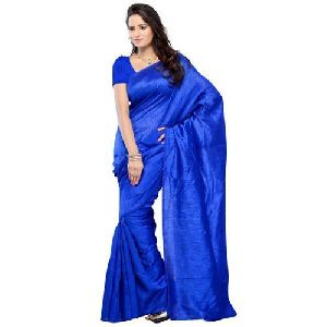 Plain Pure Silk Saree