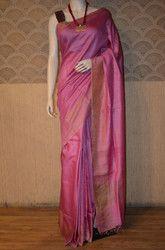 Pure Tussar Munga Silk Saree