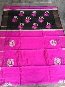 Tasser Dupain Pure Silk Saree