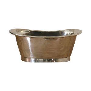 Copper Bathtub Nickel Inside Nickel Outside