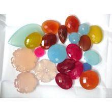 Chalcedony Fancy Briolette Beads