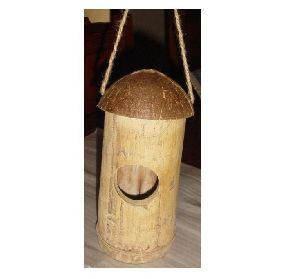 Bamboo Coconut Bird House