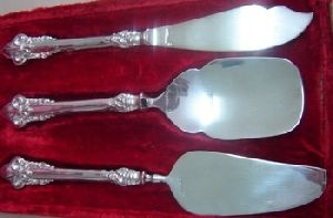 Cake Serving Cutlery Silver Plated