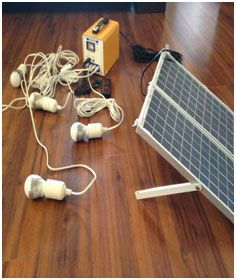 Solar Home Lighting Solution