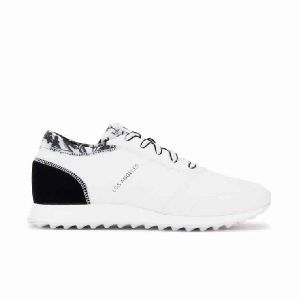 Adidas Los Angeles W White/black Women Shoes Sku.12844 - Women Adidas Shoes