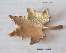 Aluminum Leaf Shaped Platter