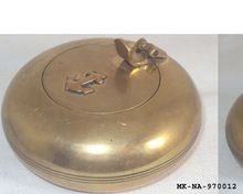 Brass Antique Nautical Pocket Ashtray