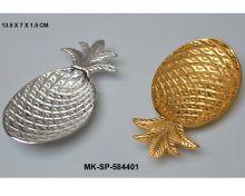 Brass Pineapple Trinket Tray