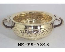 Brass Urli Flower Pot
