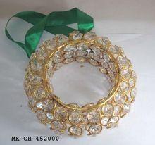 Crystal Diamond Christmas Tree Hanging Wreath