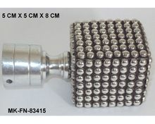 Decorative Square Shaped Metal Finial