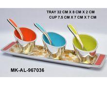 Enamel Aluminum Bowl Set