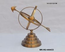 Nautical Style Armillary Sundial