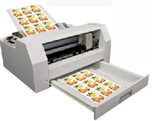Sheet Label Cutter Machine