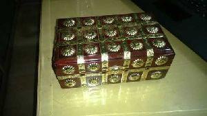 Brass Wooden Box