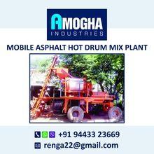 Portable Hot Asphalt Drum Mix Plant