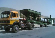 stationary mobile asphalt plant