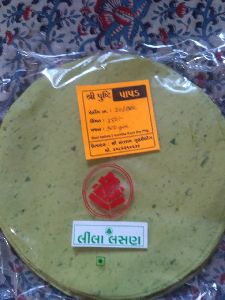 Pusti Green Garlic Papad