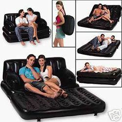 Air Sofa Cum Bed With Free Electric Pump