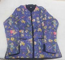 Cotton Quilted Winter Jacket Coat Reversible Jacket