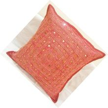 Handmade Embroidery Work Handmade Cotton Pillow Case