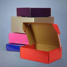 Diffrent Colored Corrugated Kraft Box