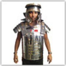 Roman Armour Jacket With Brass Work