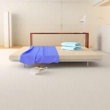 Zen Double Bed Frame With Soft Foam Mattress