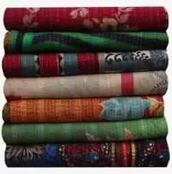 INDIAN VINTAGE KANTHA QUILT