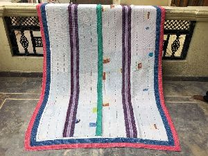 soft beautiful vintage kantha quilt,Bohemian kantha quilts