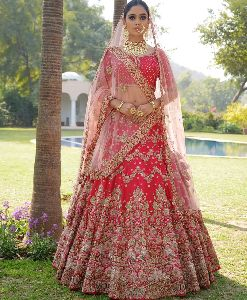 Silk Bridal Lehenga