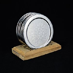 Wood Coasters Design With Stand