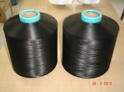 Doped Dyed Black Yarn