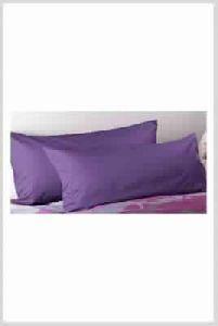 Plain Dyed Purple Cotton Pillow Covers