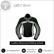 Leather Motorcycle Jacket With Bulk Packing