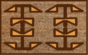 Coir Designer Door Mat 06