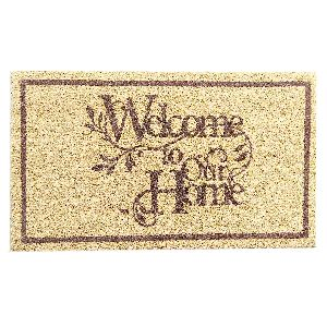 PVC Backed Welcome Coir Mats