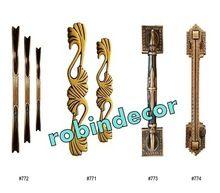 Antique Solid Brass Door Handle