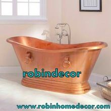 Handmade Copper Brass Antique Bathtub