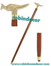 Wooden Walking Stick Cane Handle