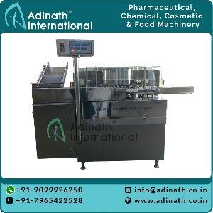 Semi Glass Vial Washing Machine