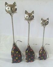 Metal Cat Figurines